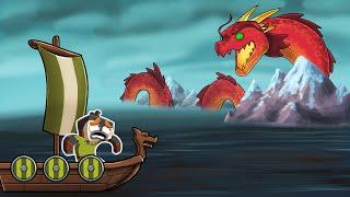 Hidden WORLD of the SEA DRAGONS! (Minecraft Dragons)