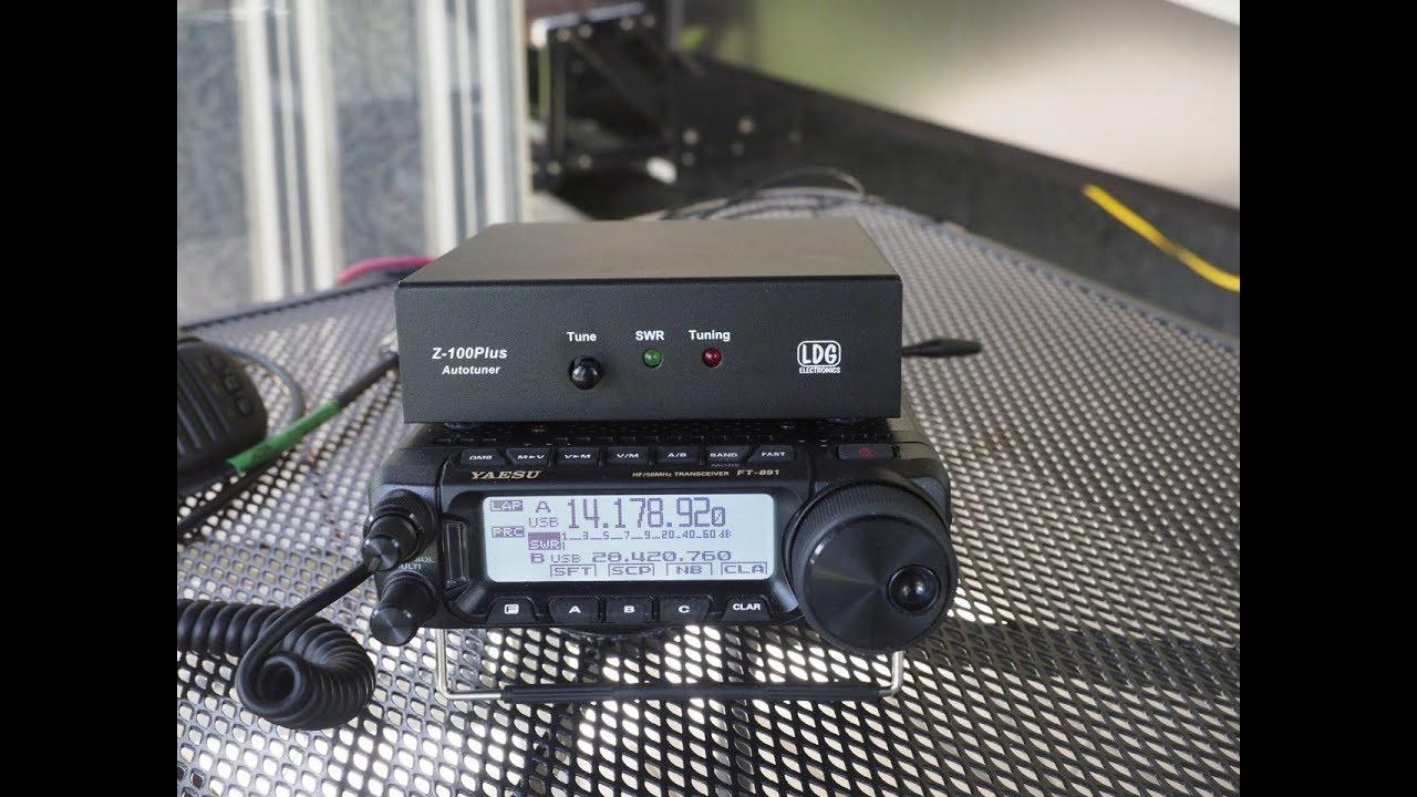 LDG Z-100Plus auto tuner review