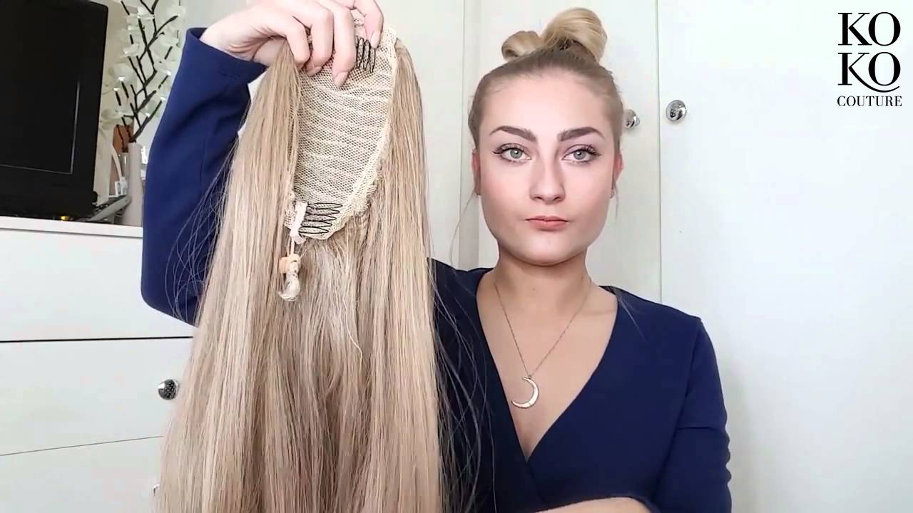 Plait Tutorial By Rebecca Using Our Christine Straight Ponytail