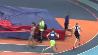 Чемпионат республики Беларусь. Могилев 20 февраля. Бег 800 метров мужчины