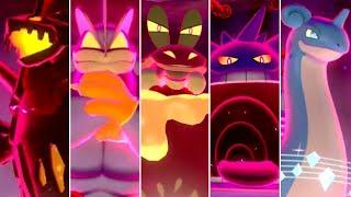 Pokémon Sword & Shield - All Exclusive Gigantamax Raid Battles