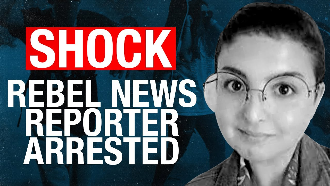 SHOCK: Rebel News reporter Anna Slatz arrested in New York!