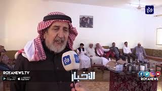 المواطنون في معان يحافظون على عادات اسلافهم بتقبل تهاني العيد في المضافات العشائرية - (15-6-2018)