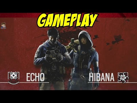 Echo & Hibana GAMEPLAY Rainbow Six: Siege Operation Red Crow Japanese Operator Season 4