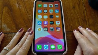 WHAT'S IN MY IPHONE 11? 📲 in ASMR