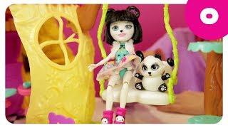 ЭНЧАНТИМАЛС - волшебные подружки. Играем в куклы. Обзор игрушек для девочек