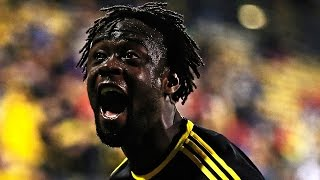 GOAL: Kei Kamara heads it home towards the end of extra time