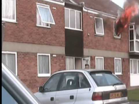 TWO SKATEBOARDERS,HEROES,SAVE FAMILY  FROM A BURNING FLAT, REAL FIRE RESCUE.