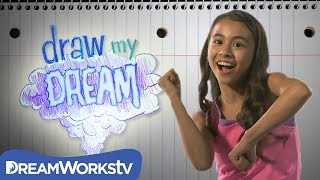 Sierra and the Giant Giraffe party | DRAW MY DREAM