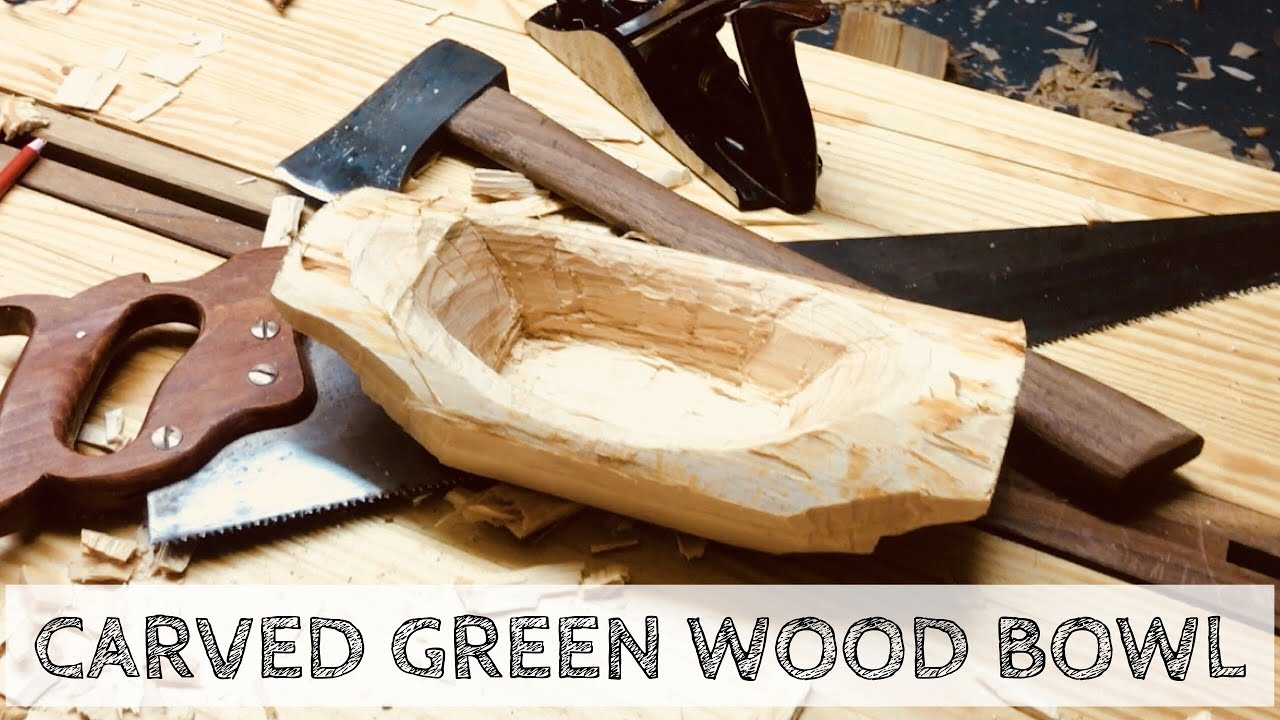 Making a Green Wood Bowl | Woodworking with a Hatchet and Chisel
