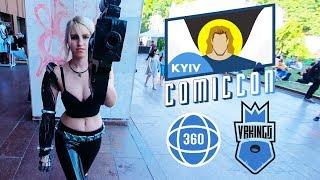 Cosplay At Kyiv Comic Con 2019 • КОСПЛЕЙ в 360 градусов • 360 Vr Video Vrkings