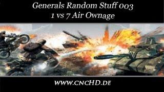 [C&C Zero Hour Random Stuff - 003] 1 vs 7 Air ownage