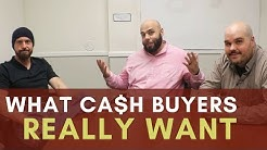 What Cash Buyers are Really Looking for when Wholesaling Houses | Chat with Chatto
