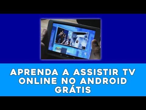 Como assistir canais de TV ONLINE GRÁTIS no seu celular ou tablet android