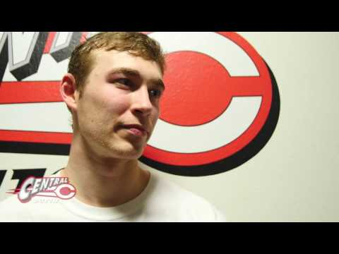 Central Men's Basketball v. Luther Interview: Colby Taylor  1.4.17