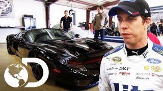 Brad Keselowski visita Gas Monkey Garage  | El dúo mecánico | Discovery Latinoamérica