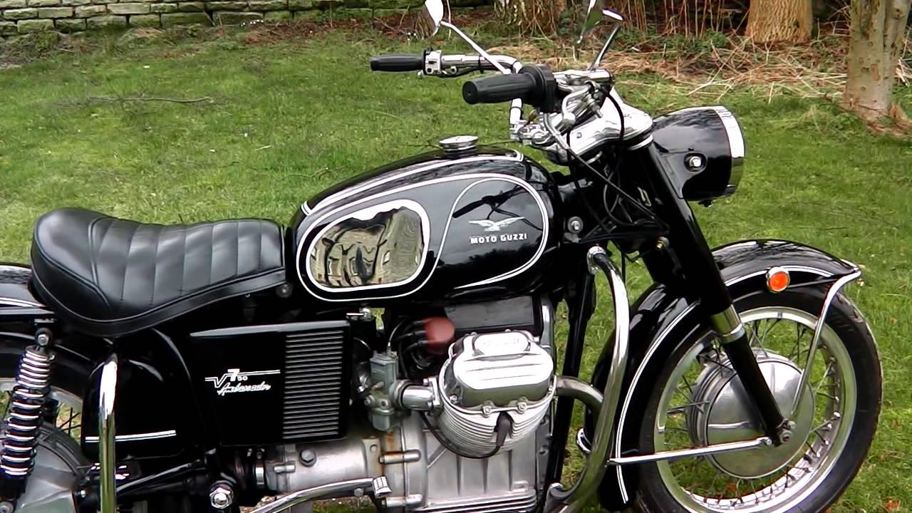 1969 moto guzzi ambassador 750 - youtube