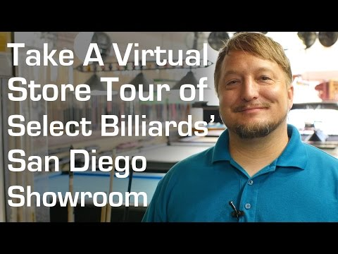 Select Billiards Store Tour