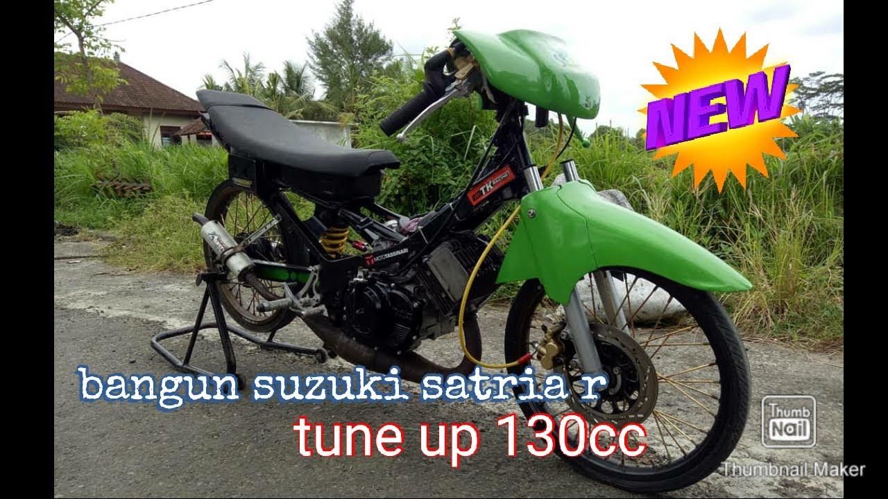 Bangun suzuki satria 2 tak tune up - YouTube