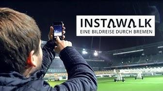 #instawalkbremen - Weser-Stadion im Dunkeln
