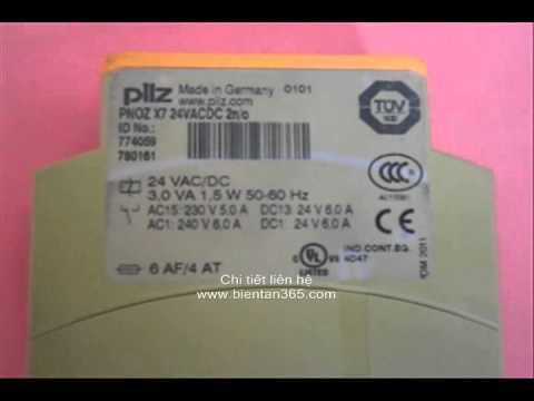 Bán Pilz PNOZ X7, PNOZ X3, PNOZ XV2 Safety Relay giá rẻ tại VN