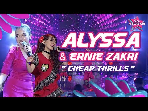 Alyssa & Ernie Zakri bersamba sakan dengan Sia Cheap Thrills | Ceria Megastar Separuh Akhir