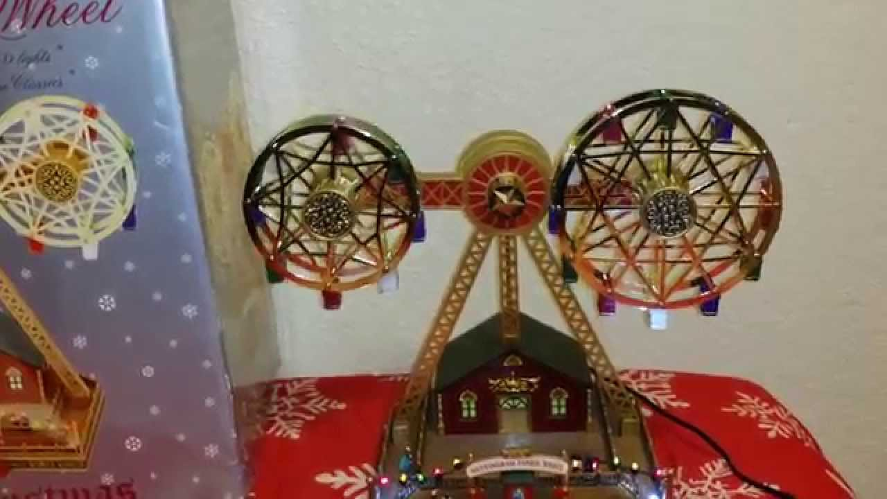 Mr christmas Double ferris wheel - YouTube