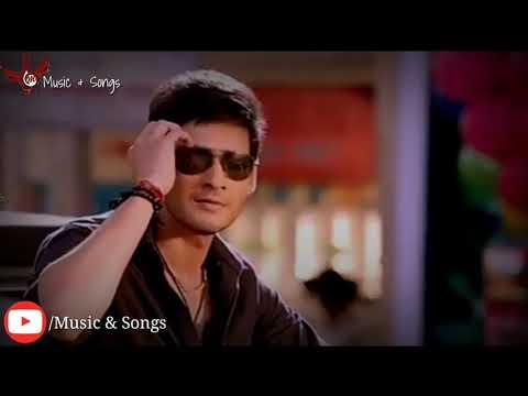 Mahesh Babu In Love Ankhon Mein Teri WhatsApp Status Video Music & Songs