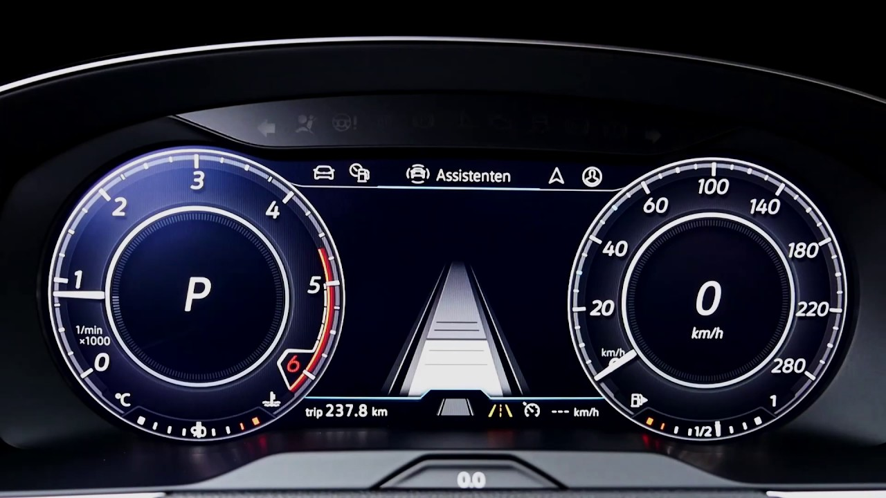 Image result for volkswagen arteon interior speedometer