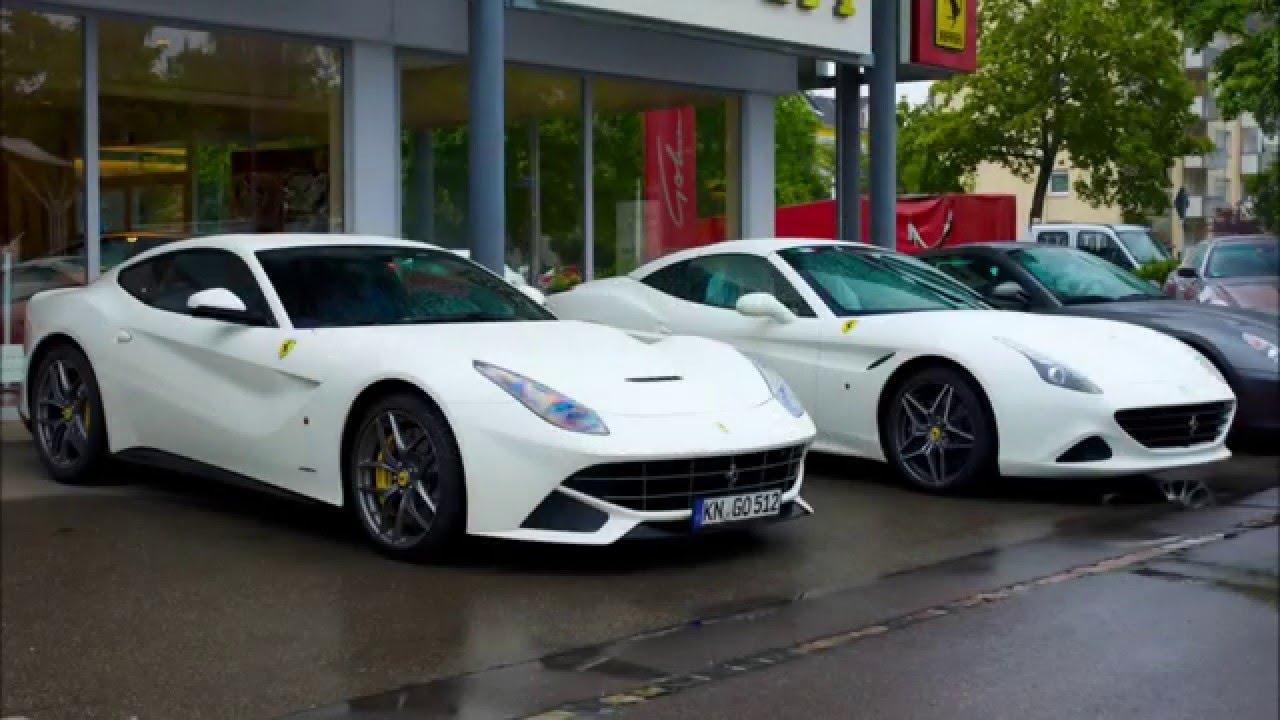 Ferrari California T Vs F12 Comparison Youtube