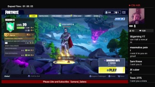 Fortnite PS4 Live - France Flux cadeau de carte-cadeau