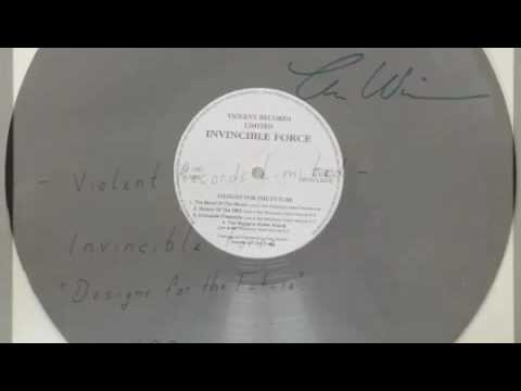 Invincible Force - Designs for the Future ( Violent Records Limited 1991 ) Medley all Songs