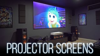 Choosing A Projector Screen  Everything You Need To Know