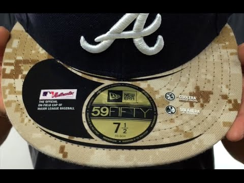 767a680a43a Braves  2015 STARS N STRIPES  Fitted Hat by New Era - YouTube