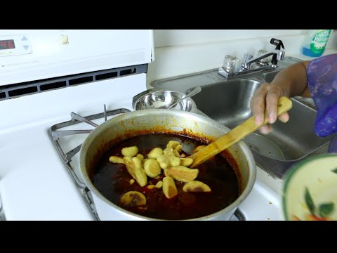"Ethiopian Cuisine "" How to Make Shinbra Asa"" የሽንብራ አሳ አሰራር"
