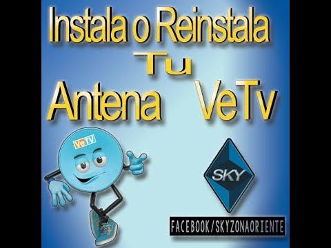 Como Instalar O Reinstalar  Tu Antena VeTV (ANTENA ELIPTICA)