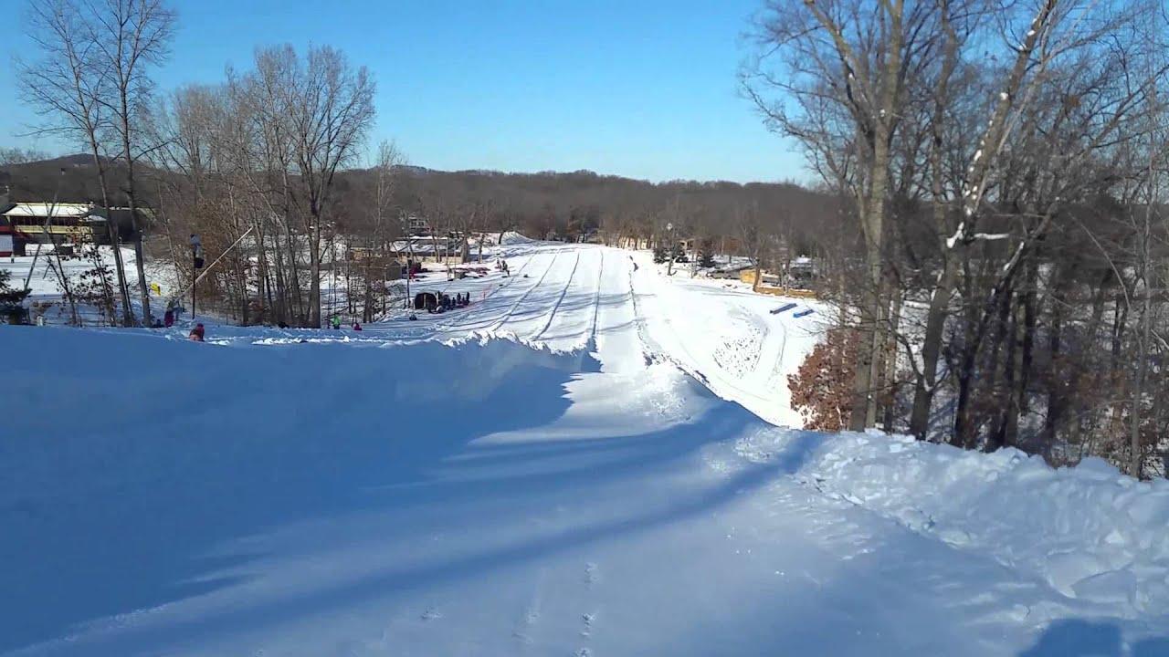 Christmas Mountain Village.Christmas Mountain Village Snow Tubing Pt 1
