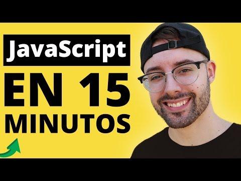 Aprende JavaScript En 15 Minutos 📒