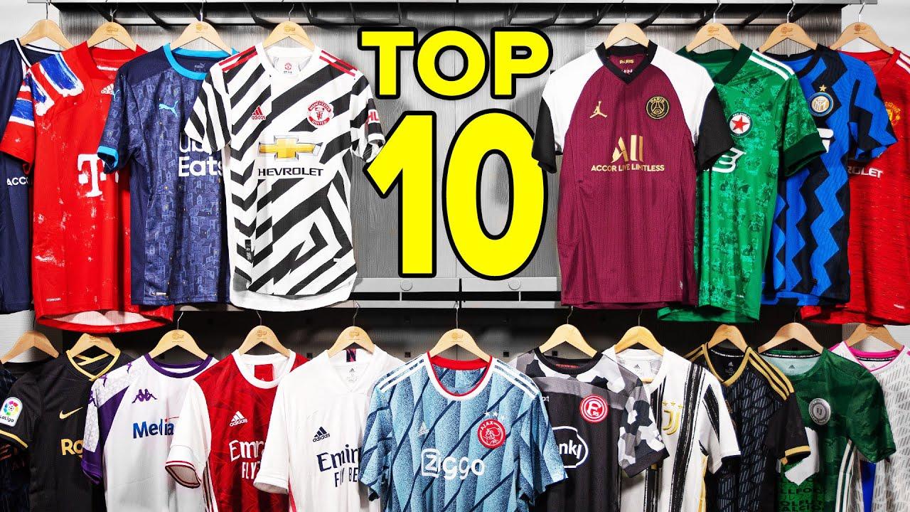 TOP 10 FOOTBALL SHIRTS OF 2020/2021