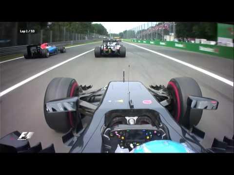 Alonso's Mega Start at Monza 2016 | F1 Is...Instinctive