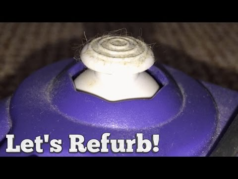 Let's Refurb! - How to Clean a Gamecube Controller