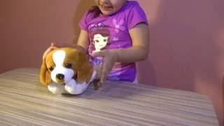 Посылка с Алиэкспресс. Новая игрушка. Интерактивный щенок.  Sending a Aliekspress. New toy.