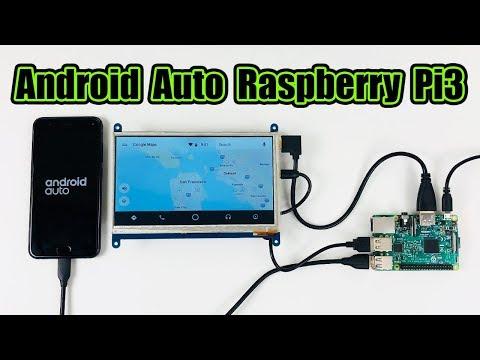 Android Auto Raspberry Pi 3 Crankshaft OpenAuto