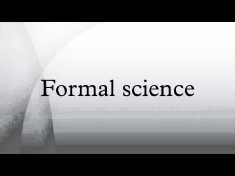 Formal science