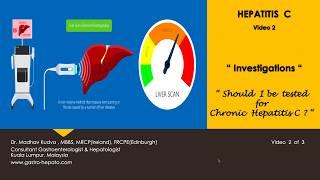 HEPATITIS C - Investigations
