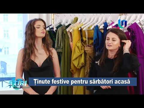 TeleU: Ținute festive pentru sărbători acasă