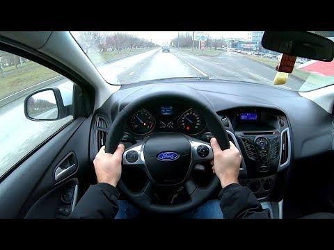 2012 Ford Focus Универсал POV TEST DRIVE
