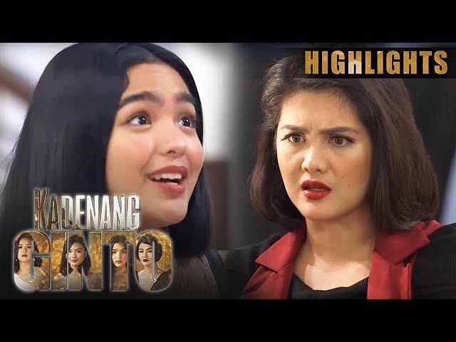 Daniela, pinagtakpan ang katotohanan kay Marga   Kadenang Ginto (With Eng Subs)