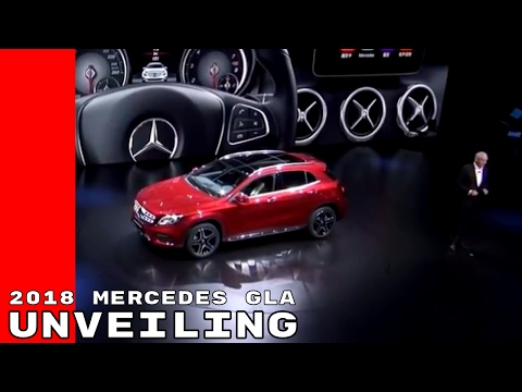 2018 Mercedes GLA SUV Sport Unveiling At Shanghai