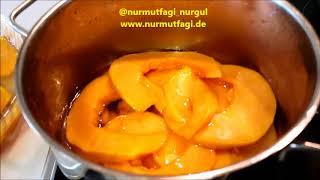 Karbonatlı Kabak tatlısı tarifi, karbonat ile Balkabağı tatlısı nasıl yapılır, Nurmutfagi NurGüL